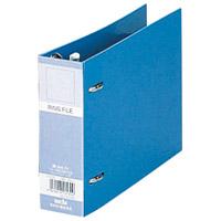 ロックリングファイル F-232 B6E 28mm 青