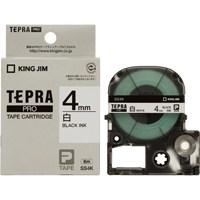 テプラPROテープ SS4K 白に黒文字 4mm