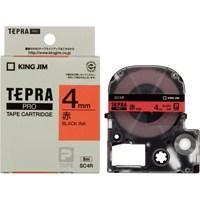 テプラPROテープ SC4R 赤に黒文字 4mm