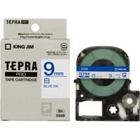 テプラPROテープ SS9B 白に青文字 9mm