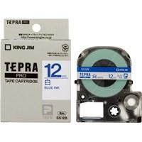 テプラPROテープ SS12B 白に青文字 12mm
