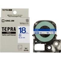 テプラPROテープ SS18B 白に青文字 18mm