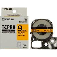 テプラPROテープ SC9D 橙に黒文字 9mm