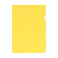 クリヤーホルダー G6100-17 A4 黄 100枚