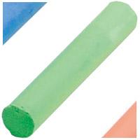 学校用蛍光チョーク DCK72-G 緑 72本