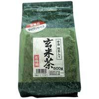 国太楼 たっぷり抹茶入 玄米茶 500g