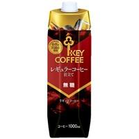 リキッドコーヒー 無糖 1L/6本