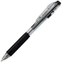 ボールペンノック式 黒10本 H018J-BK-10