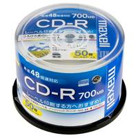 CD-R <700MB> CDR700S.WP.50SP 50枚