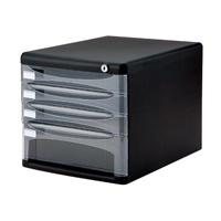 デスクトップ4段 A4-SK4D ブラック