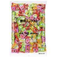 飲料ミックス5 キャンディー 徳用 1kg袋