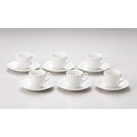 キャロルコーヒー碗皿6客入