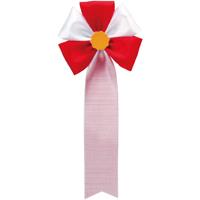 徽章リボン五方リボン 459-007 赤