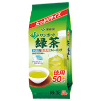 ワンポット抹茶入り緑茶ティーバッグ50袋