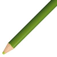 色鉛筆 単色 12本入 1500-06 黄緑