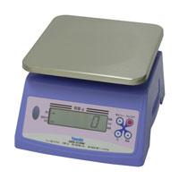 検定)防水型デジタル上皿はかり 2.4kg