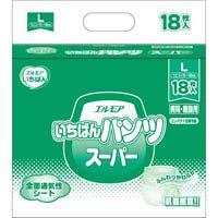 ▲いちばんパンツスーパーL 18枚×6P
