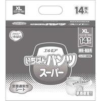 ▲いちばんパンツスーパーXL 14枚×6P