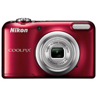 デジタルカメラ COOLPIX A10RD レッド