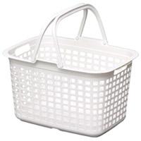 ランドリーバスケット LB-M ピュアホワイト