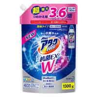 アタックNeo抗菌EX Wパワーつめかえ用1300g