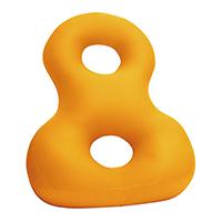 背すじをのばす8の字クッション オレンジ