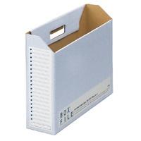 ボックスファイル FL-098BF B4E 青 5冊