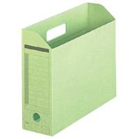 ボックスファイル FL-051BF A4E グリーン