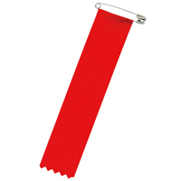 リボン 徽章ビラ 赤 459-781