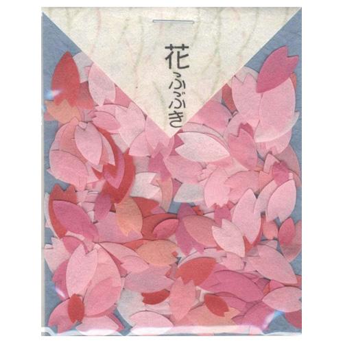 貼り絵 805029 花ふぶき