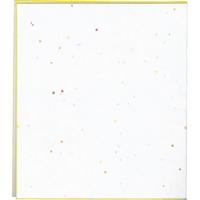二つ折色紙 大 ケ357 白