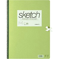 スケッチブック 画用紙 F4 SK945