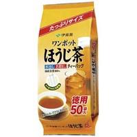 ワンポットほうじ茶ティーバッグ50袋