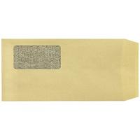 窓付き封筒長3クラフト100枚 P028J-K