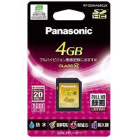 メモリーカード 4GB RP-SDWA04GJK