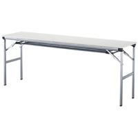 脚折りたたみテーブル LOT-A1845T 棚付