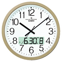 カシオ電波掛時計 IC-4100J-9JF