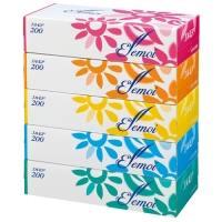 エルモアティシュー 200組×5箱
