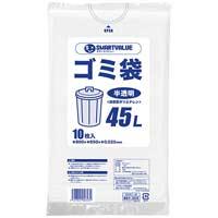 ゴミ袋 LDD半透明 45L 10枚 N209J-45