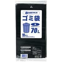 ゴミ袋 LDD 黒 70L 200枚 N210J-70P