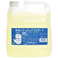 手洗いせっけんバブルガード業務用4Lx4