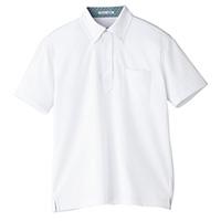 メンズポロシャツ FB5023M ホワイト S