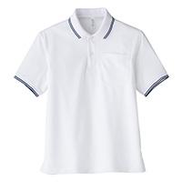 ポロシャツユニセックスMS3112 L ホワイト