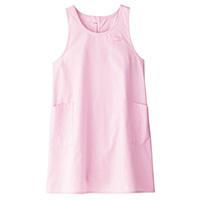 胸当てエプロンFK7141 ピンク