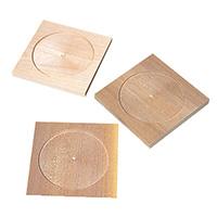 モザイク用素材 四角コースター 3枚組