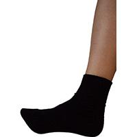 転倒予防靴下アガルーノ ブラック23-24cm