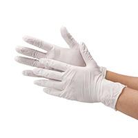 ニトリル極薄手袋 粉なしホワイトM