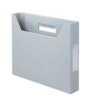 ボックスファイルスリム FL-022BF A4 SLG