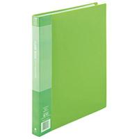 クリアーブック40P A4S緑1冊 D048J-GR