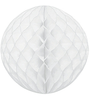 ハニカムボール30cm ホワイト